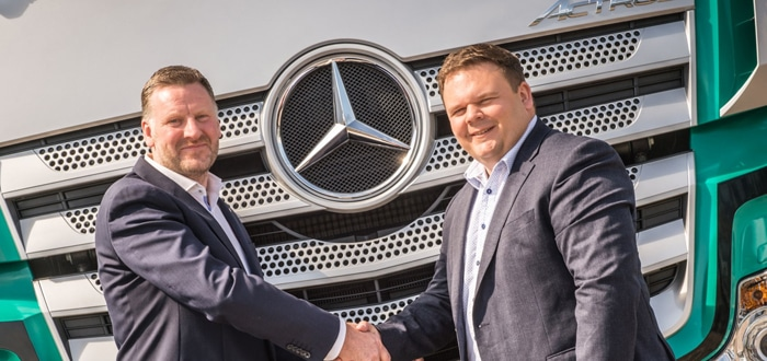 Mercedes-Benz Dealer BLS Truck & Van Is Up And Running In Aberdeen.