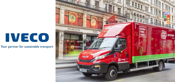 Vehicle To Future-Proof Firm's London Deliveries Ahead Of City's Upcoming Ultra-Low Emission Zone.