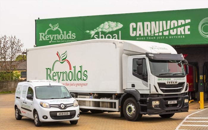 Carrier Transicold Helps Reynolds Take First Steps Into Engineless Refrigeration.