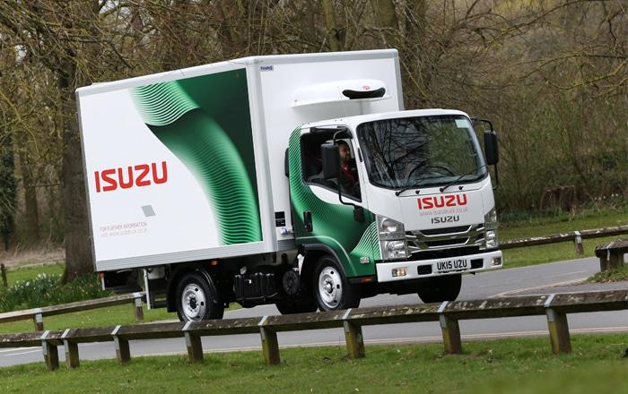 Isuzu Truck UK Debuts At TCS&D Show.