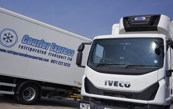 Reliability Is Key To Courier Express Refrigerated Transport's Ongoing Commitment To Carrier Transicold Supra® 850 MT Units.