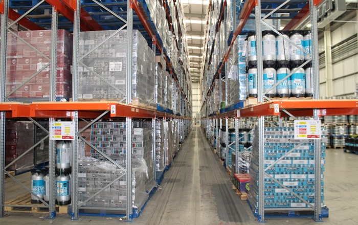 Star Refrigeration Installs Future-Proof CO2 Refrigeration System For BrewDog's Eurocentral Warehouse.
