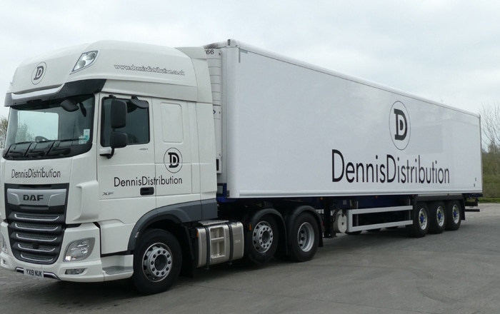 Dennis Distribution Choice Of Cartwright Group Fridge Trailers Endorsed By Customer Feedback.
