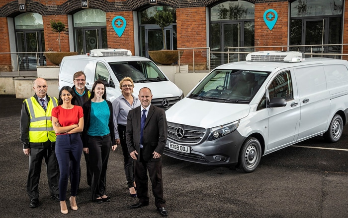 Mercedes-Benz Prescribes The Perfect Van For The Healthcare At Home Run.