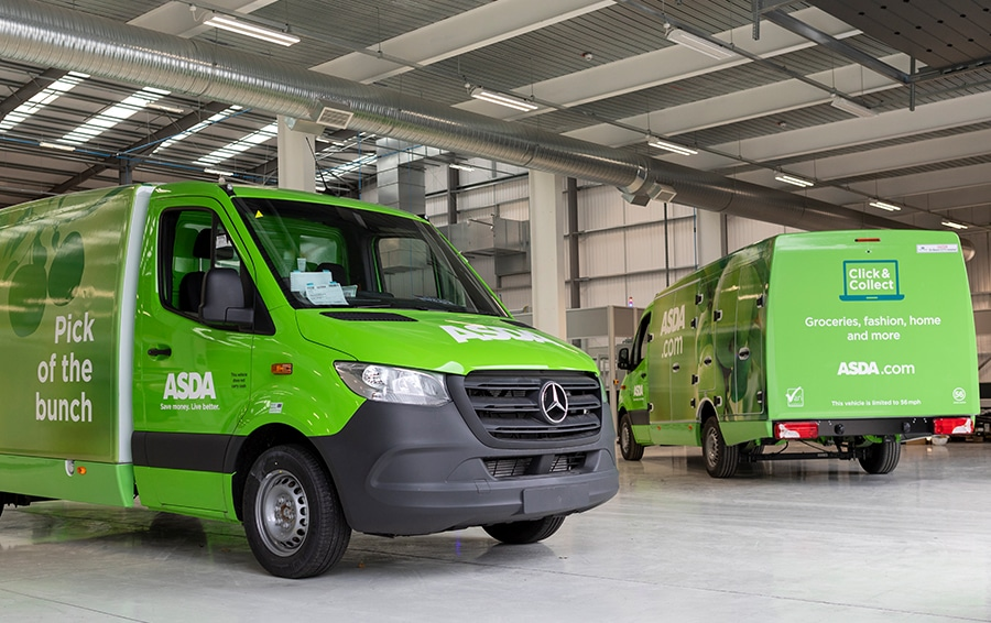 New carbon fibre home delivery fleet to drive down road miles and emissions